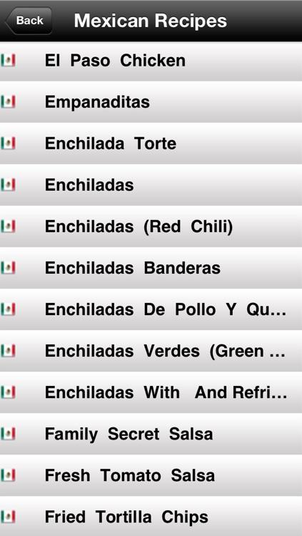190 Mexican Recipes screenshot-3