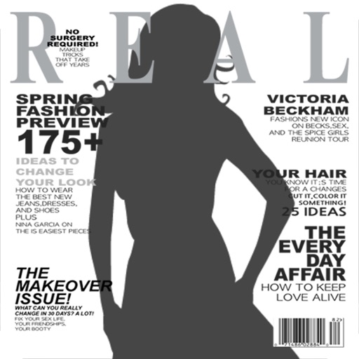 RealCover - Fake magazine covers