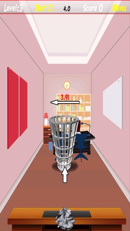 Office Paper Toss: Jerks Basketball Bin Dream screenshot-3