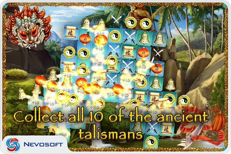 10 Talismans: oriental match 3 puzzle screenshot-3