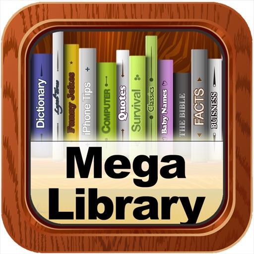 Mega Library Free: 40,000 Books, 4700 Audio Books! iOS App