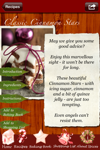 Christmas Cookies - Heavenly Recipes Baked by AngelsScreenshot of 2