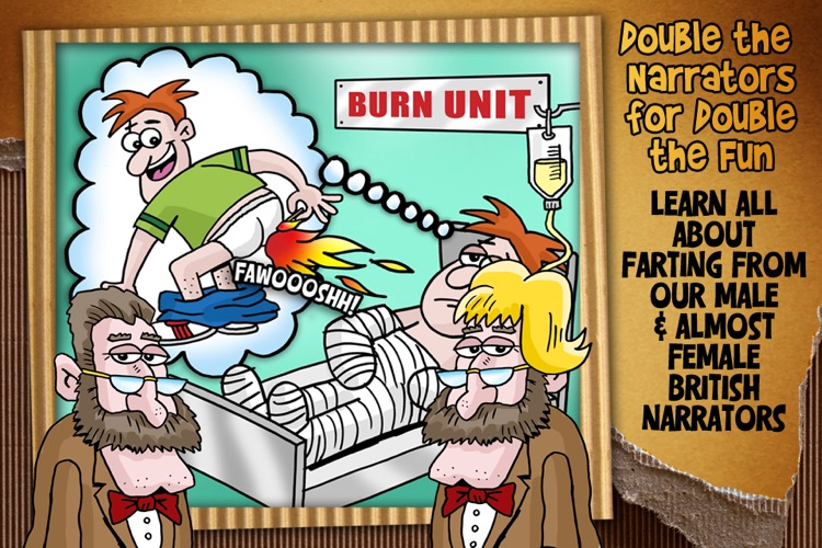 The Book of Farts - Burps, Farting and the history of gross gas screenshot-3