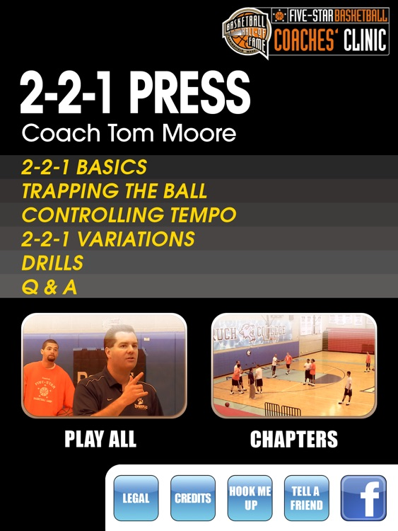 2-2-1 Press - With Coach Tom Moore - Full Court Basketball Training Instruction - XL