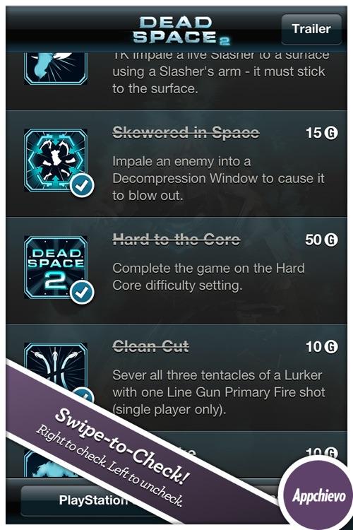(A) Dead Space 2 Achievements + Trophies