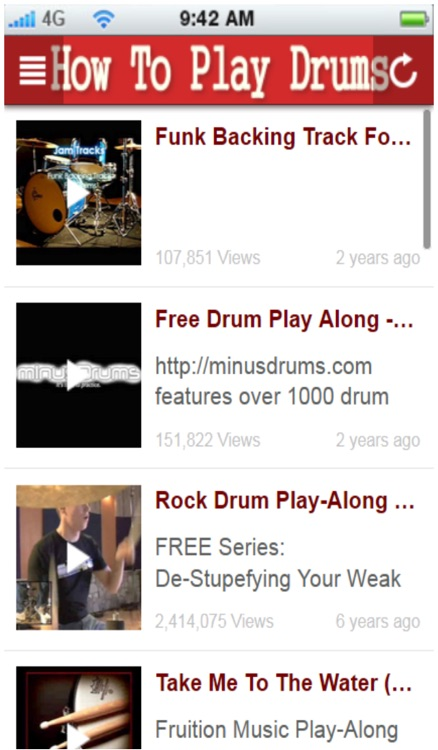 How To Play Drums+: learn how to play drums the easy way screenshot-3