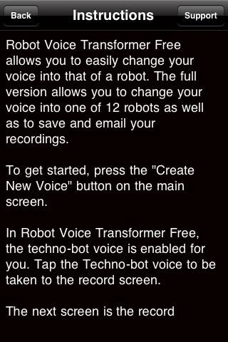 Free Robot Voice Transformer screenshot-3
