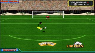Brazil Cup Flick Football Striker : Penalty Shoot Out screenshot three