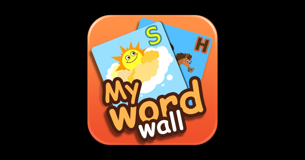 My word wall on the app store for Picture on wall app