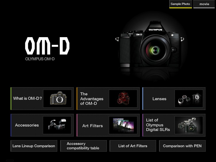OM-D catalog English screenshot-1