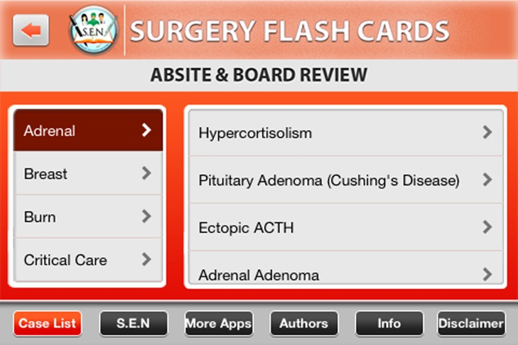 Surgery Flashcard