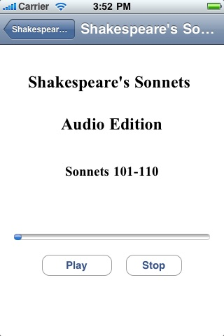 Shakespeare's Sonnets - Audio Edition screenshot-3