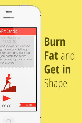 xFit Cardio – Daily Workout to Lose Belly Fat and Gain Endurance screenshot 1