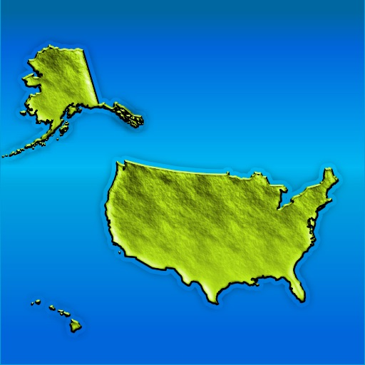 America Maps - Touch States