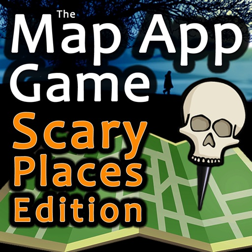 The Map App Game - Scary Places Edition