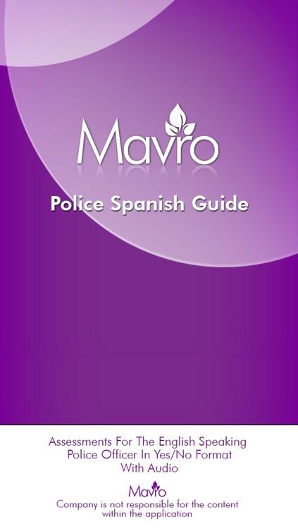 Police Spanish Guide (PSG)