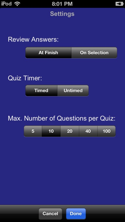 Barron's EMT Exam Review Practice Questions and Flash Cards screenshot-3