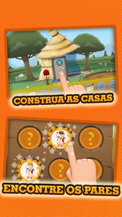 Os Três Porquinhos - História & Jogos screenshot-3