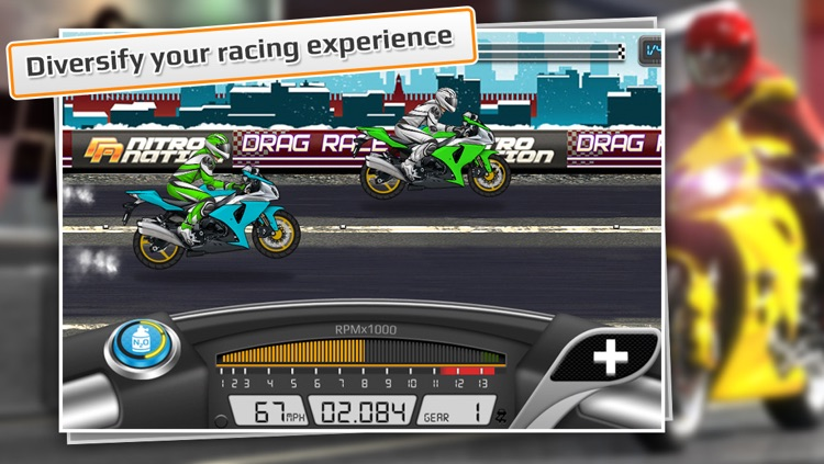 Drag Racing: Bike Edition screenshot-0