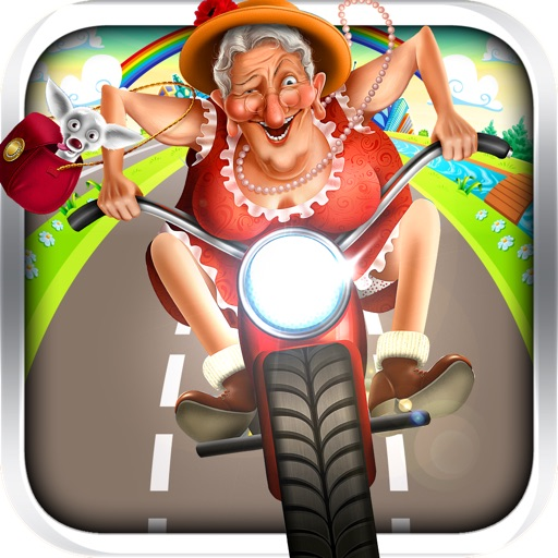Scooter Granny - Top FREE endless running game