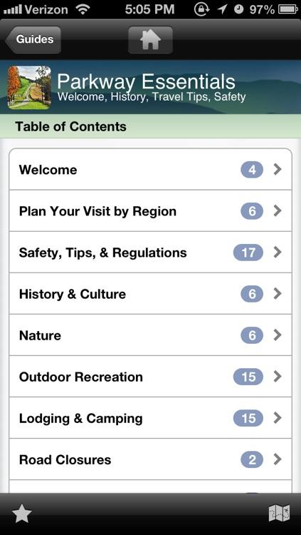 Blue Ridge Parkway - Travel Planner