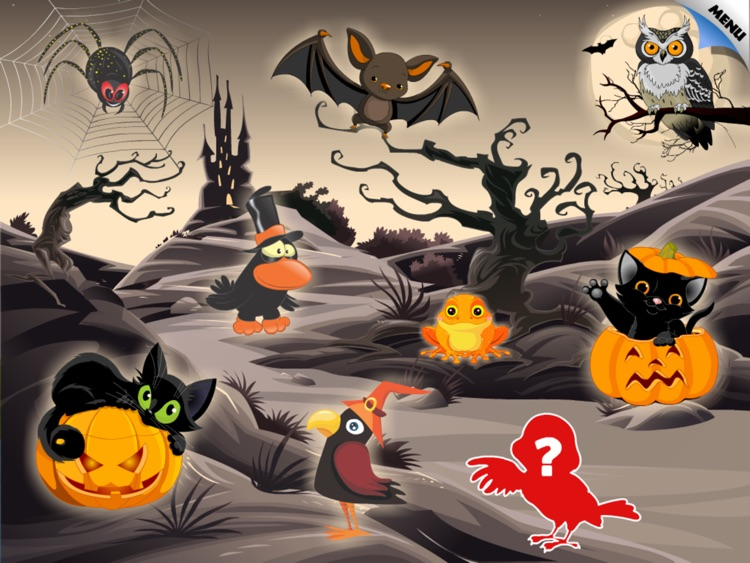 Abby Monkey®: Halloween Puzzle for Toddlers and Preschool Explorers screenshot-3