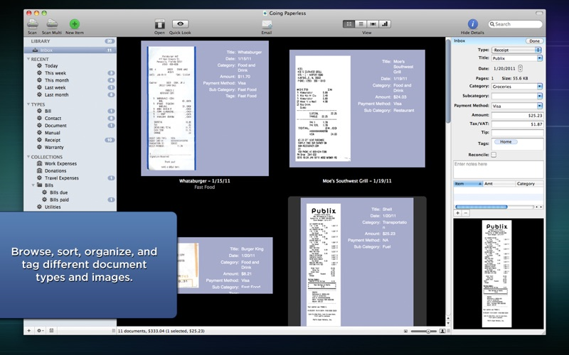 Paperless Screenshot