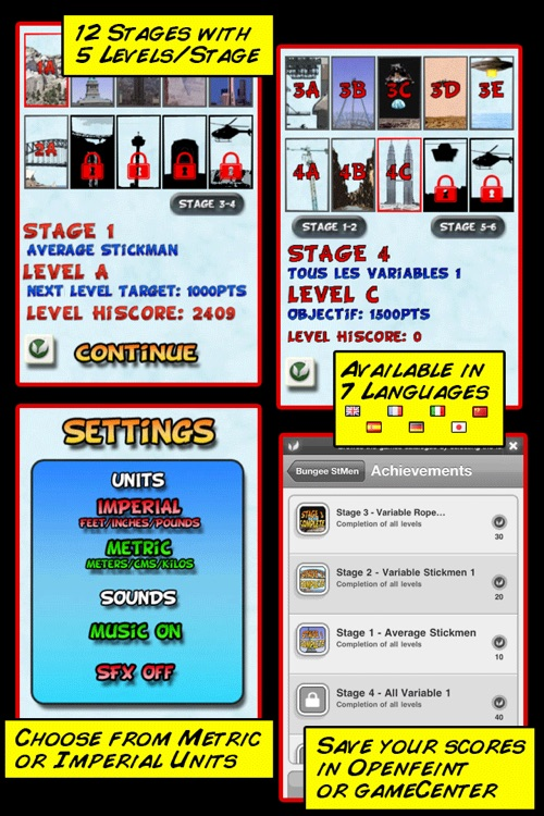 Bungee Stickmen+ screenshot-3