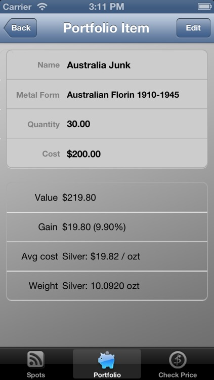 Junk and Silver Coin Calculator Lite by Stratagem PM