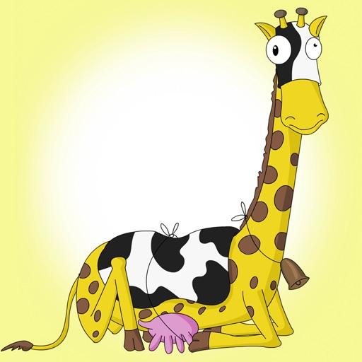 Miss Giraffe the Farmers Calf - Animoolz