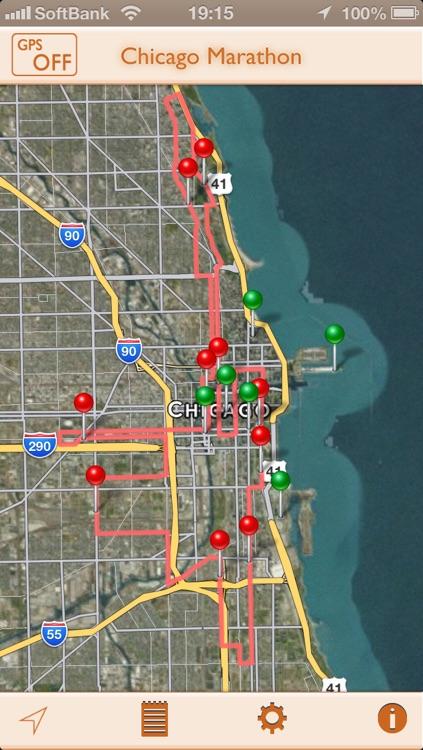 GPS-R for Chicago Marathon