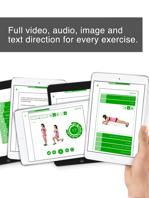 7 Minute Workout Challenge HD for iPad