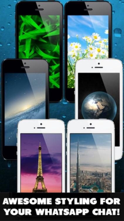 Retina Background for Whatsapp & Hangouts & Viber