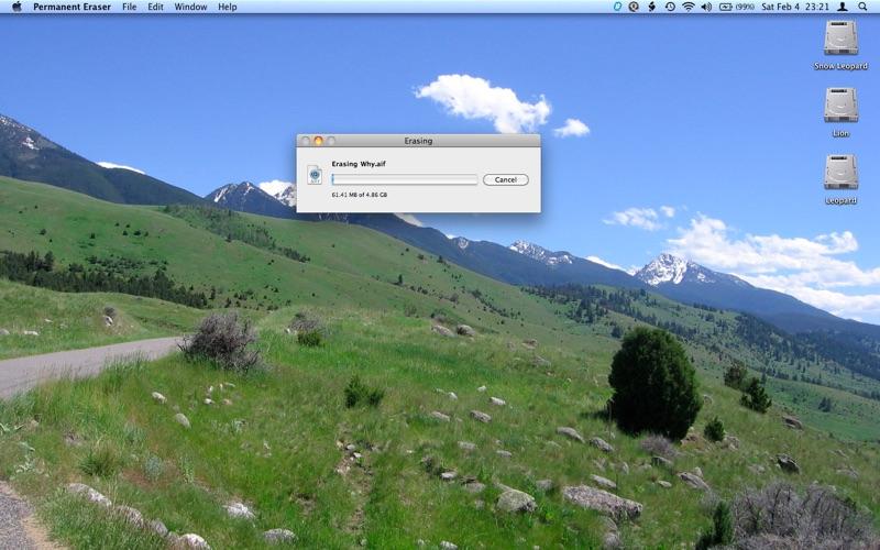 Permanent Eraser Screenshot