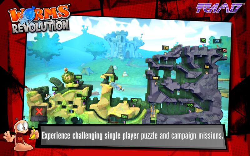 百战天虫:革命 豪华版 Worms Revolution - Deluxe Edition for Mac