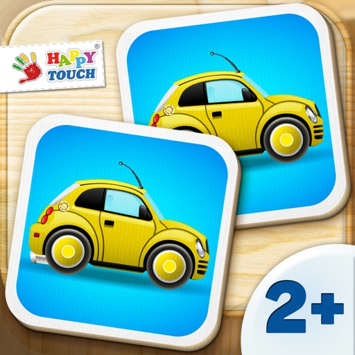 Activity Cars Match it - Puzzle Game for Kids (by Happy-Touch) Free