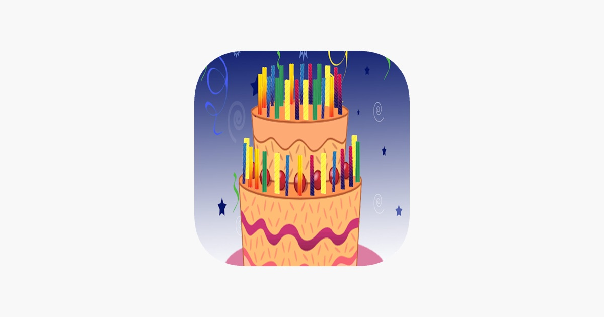 Birthday Cake You Can Blow Out On Ipad
