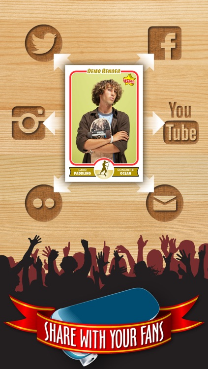 Skateboard Card Maker - Make Your Own Custom Skateboard Cards with Starr Cards screenshot-3