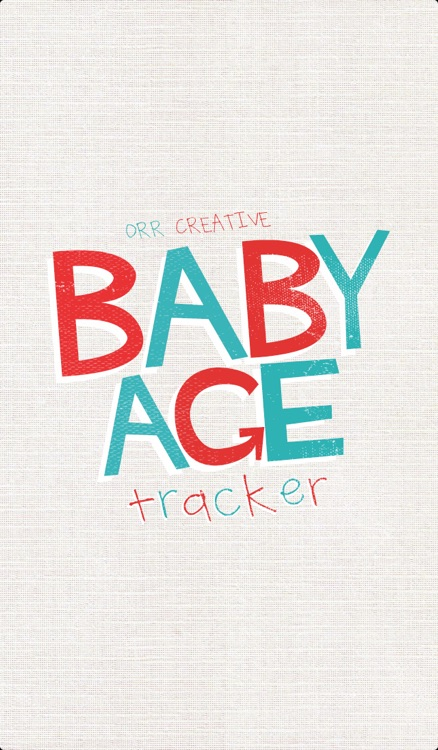 Baby Age Tracker screenshot-1