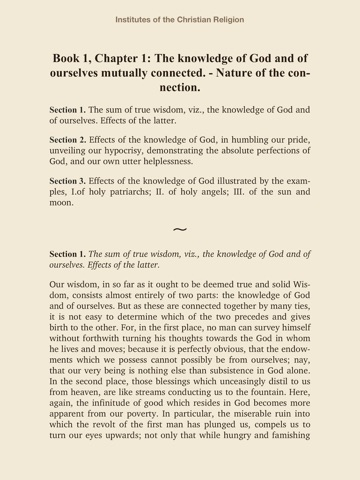 Institutes Of The Christian Religion By John Calvin On Apple Books