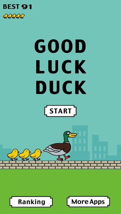 Good Luck Duck - Tiny Flappy Ducklings