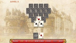 Palace Messenger Solitaire Free screenshot two