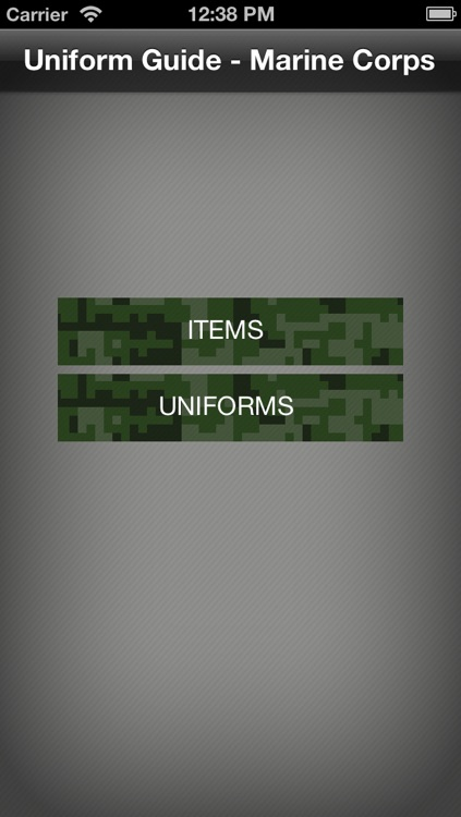 Uniform Guide Marine Corps screenshot-0