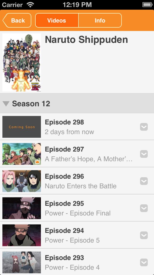 Naruto Shippuden Official - Watch Naruto FREE! - Revenue