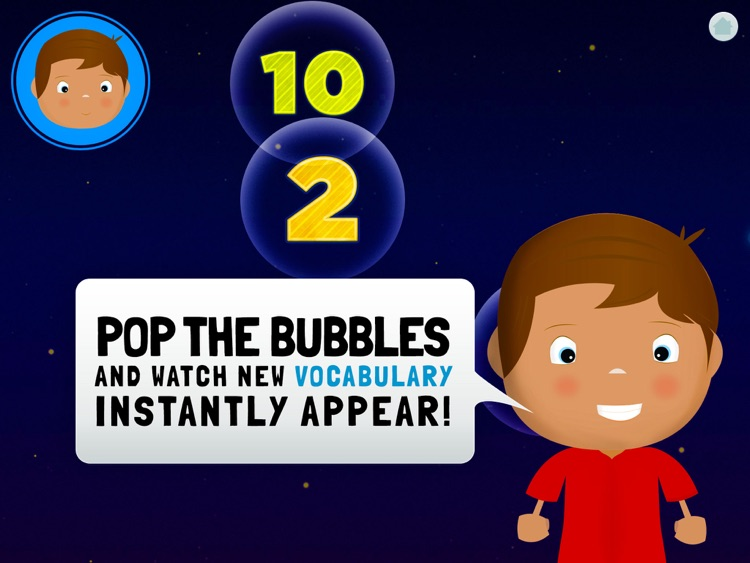 Learn Spanish for Toddlers - Bilingual Child Bubbles Word Game