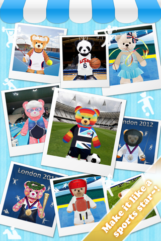 Teddy Bear Maker - Sports Edition Screenshot on iOS