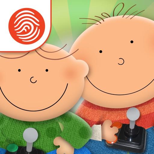 The Adventures of Ash & Ollie: ScreenTime - A Fingerprint Network App
