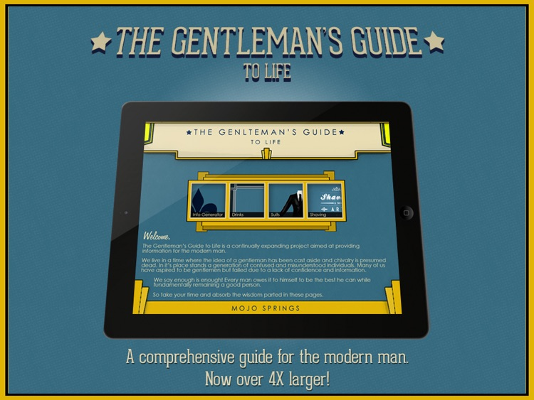 The Gentleman's Guide to Life screenshot-0
