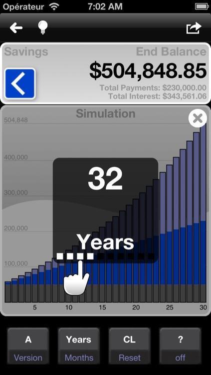 Loan and mortgage calculator - MarkMoney screenshot-3