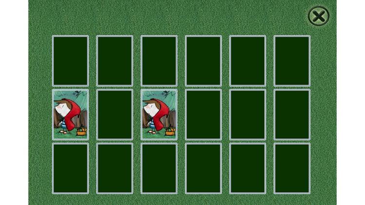 Little Red Riding Hood - Cards Match Game - Jigsaw Puzzle - Book (Lite) screenshot-3